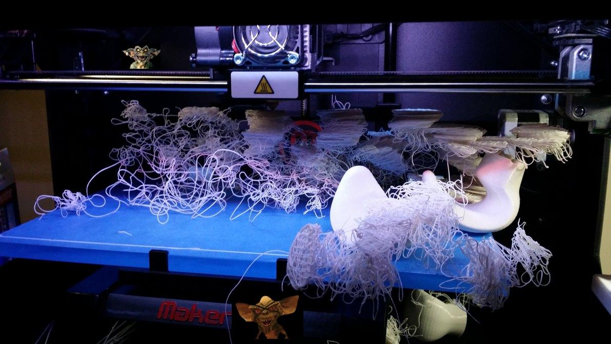 3d Printer Filament >> 3D Printing Gremlins