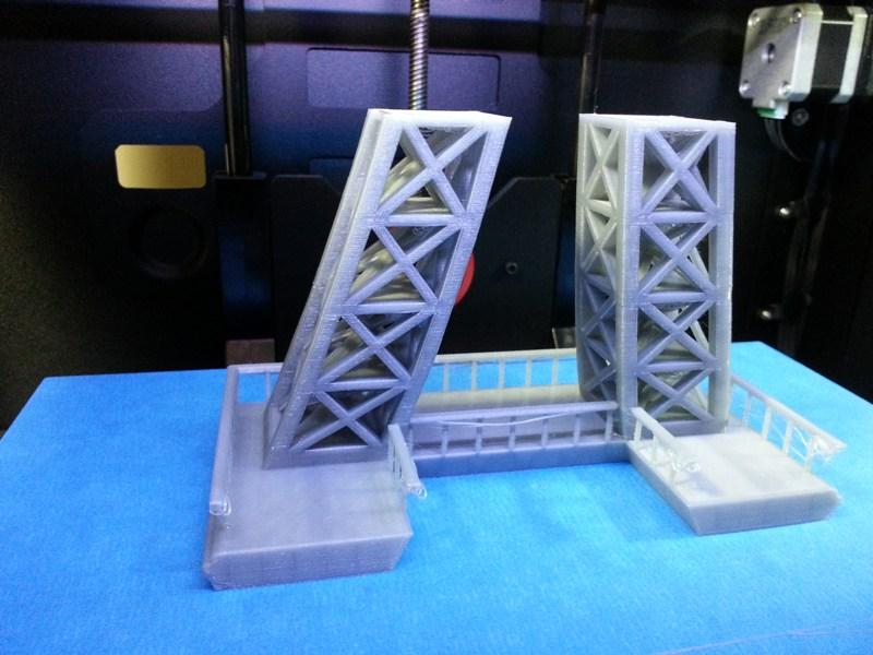 3D Printed Stage