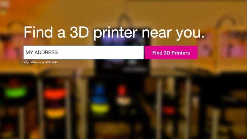 Find A 3D Printer