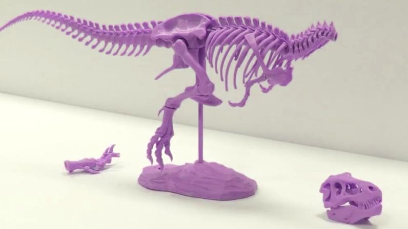 3D Printing & Assembling A Dinosaur