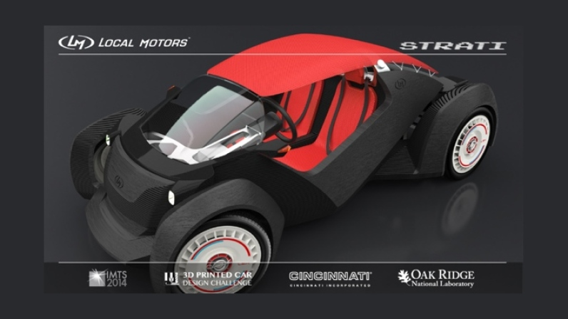 Design 3D Printed Cars