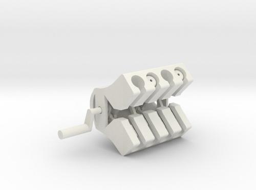 3D Printed Engine - V8