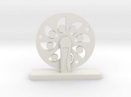 3D Printed Wheel - Da Vinci