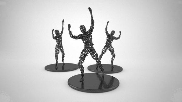 Dotsan 3d models designs for 3d wire art