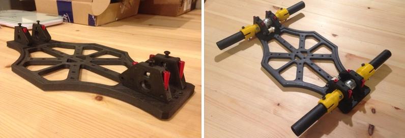 Carbon Fiber 3d Printer >> 3D printed mini quadcopter