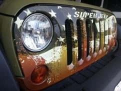 3D Printed Super Jeep