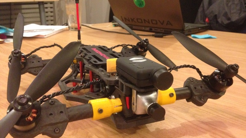 3D Printed Mini Quadcopter