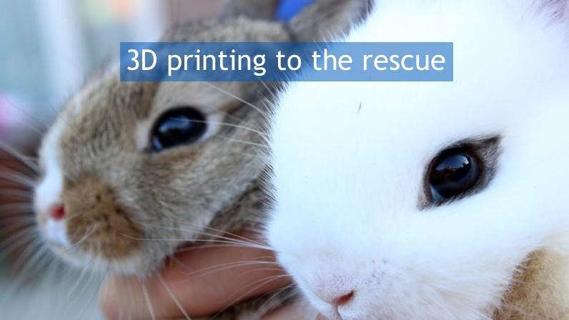 3D printing of human skin