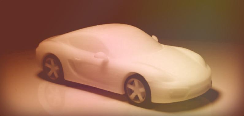 Porsche Cayman 3D Print