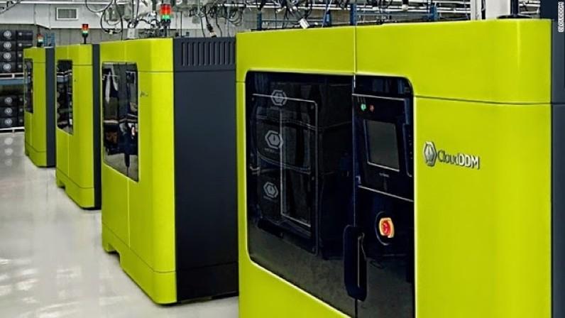 UPS 3D Printing Factory