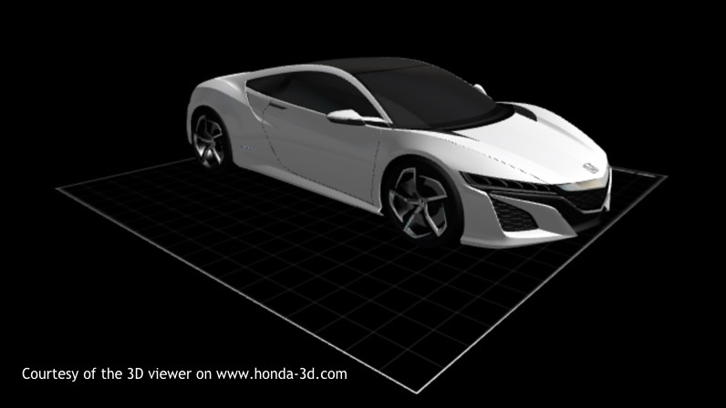 Concept supercar Honda NSX