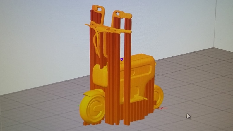 Supports For Honda 3D Print