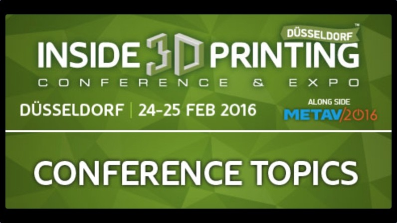 3D printing in metal conference in Dusseldorf