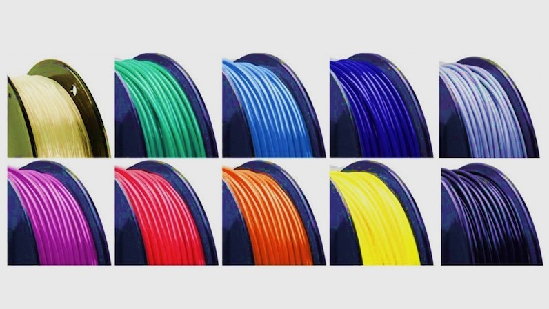 Compare ABS and PLA filaments for 3D printing