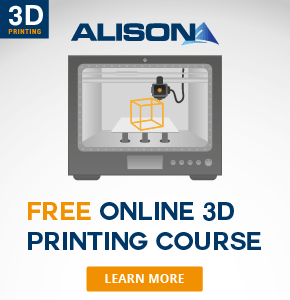 Learn about 3D printing with Alison online courses